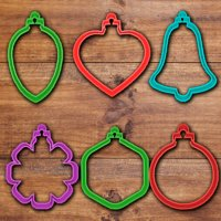 Christmas Ornaments cookie cutter set