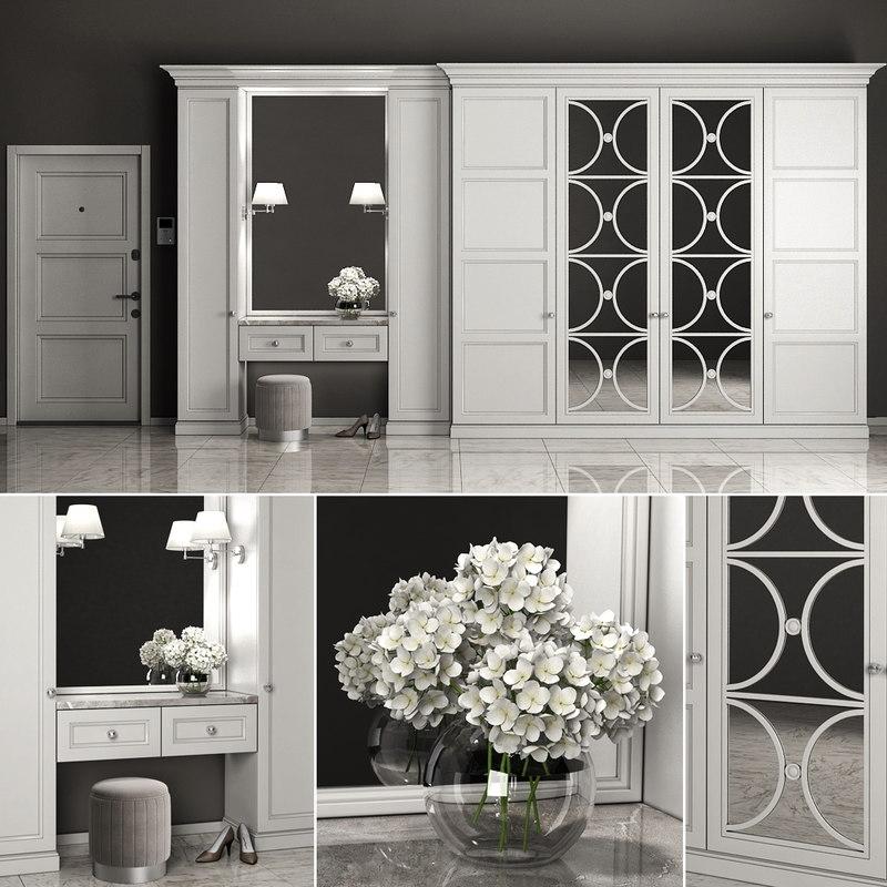 3D furniture composition