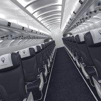airplane interior 3D