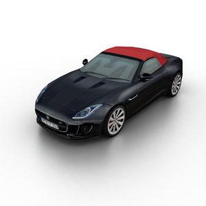 3d 2014 f-type sports model