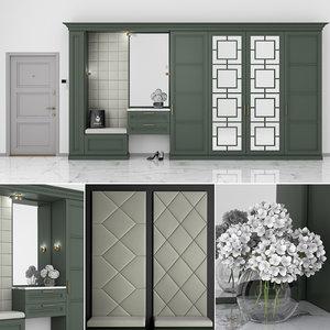 furniture composition 3D model