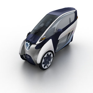 2013 toyota i-road concept 3d 3ds