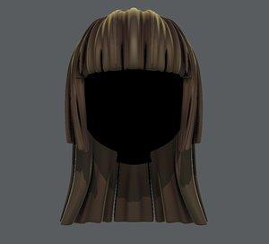 hair style girl v50 model