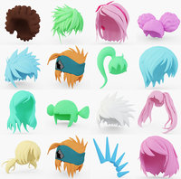 Anime Hair Collection