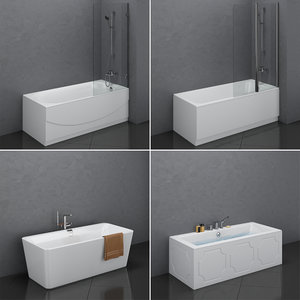 3D set baths villeroy boch