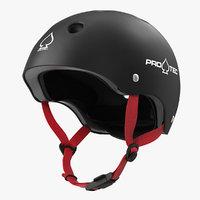 3D protec classic skate helmet model