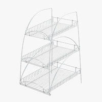 Supermarket Wire Shelving