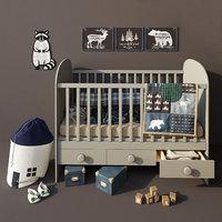 Ikea Gonatt  crib