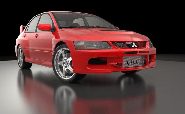 car interior 3D
