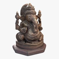scanned ganesha 3D model
