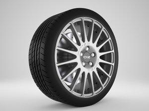 3D model rim oz racing