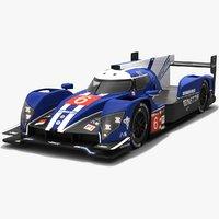 cefc trsm racing ginetta 3D model