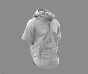 cyberpunk jacket - marvelous 3D model