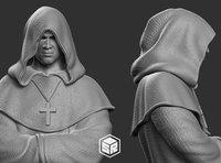 print monk 3D model
