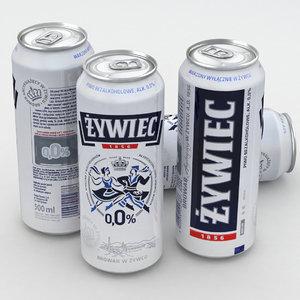 beercan beverage 3D model