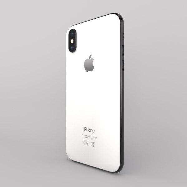 3D phone iphone x