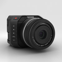 3D blackmagic micro camera