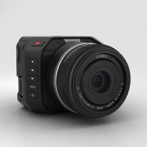 3D blackmagic micro camera
