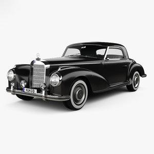 3D mercedes-benz 300 mercedes model