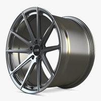3D oz racing wheel car