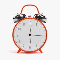 Alarm Clock Red (Rigged)