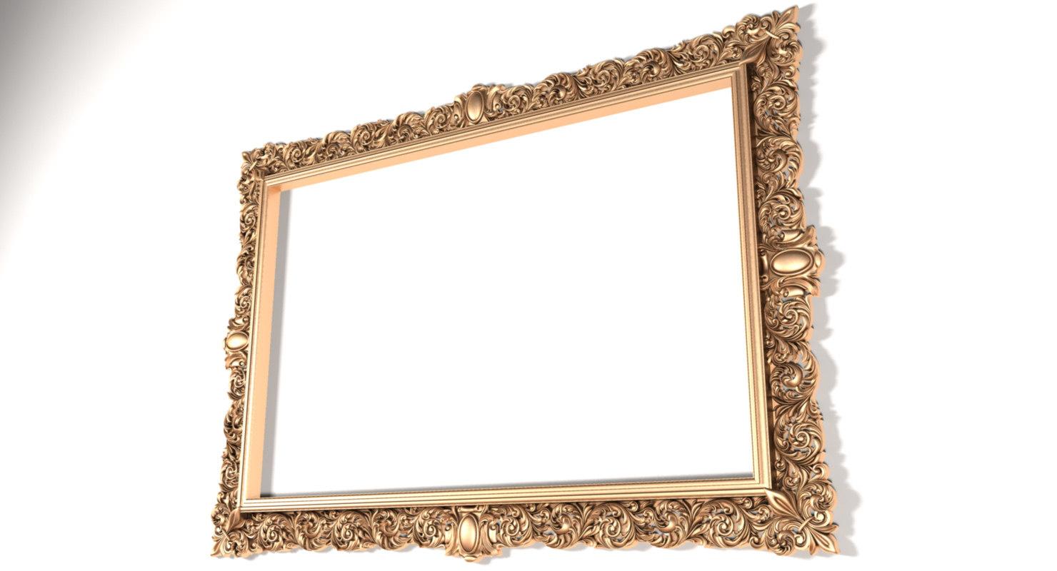 3D model frame x11