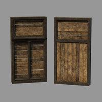 window barricade 3D