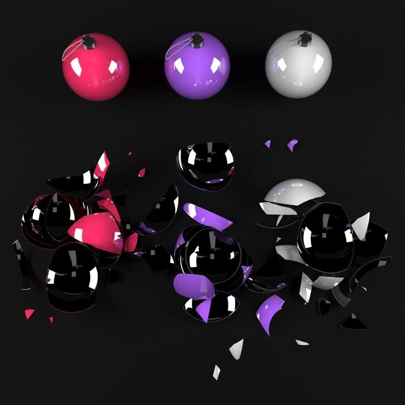 3D model broken toys