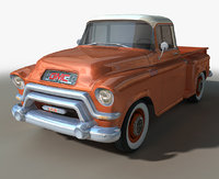 3D gmc pickup