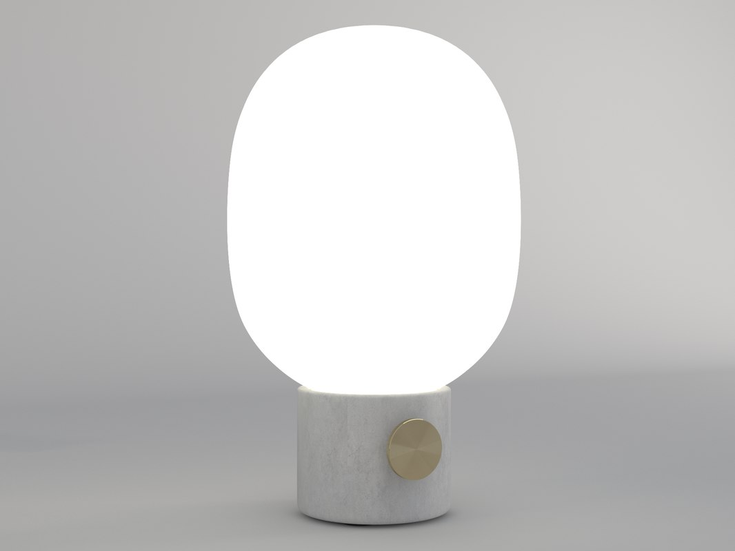 jwda table lamp 3D model