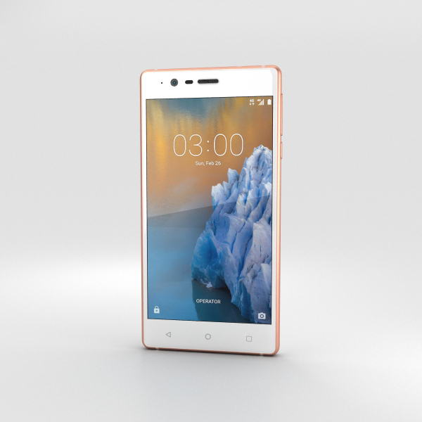 3D nokia 3 copper