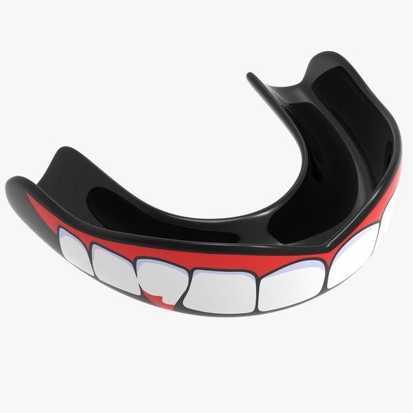 3D model mouthguard v2