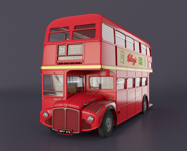 3d model london bus