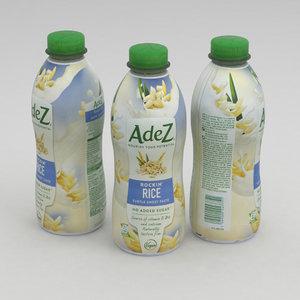3D drink rice