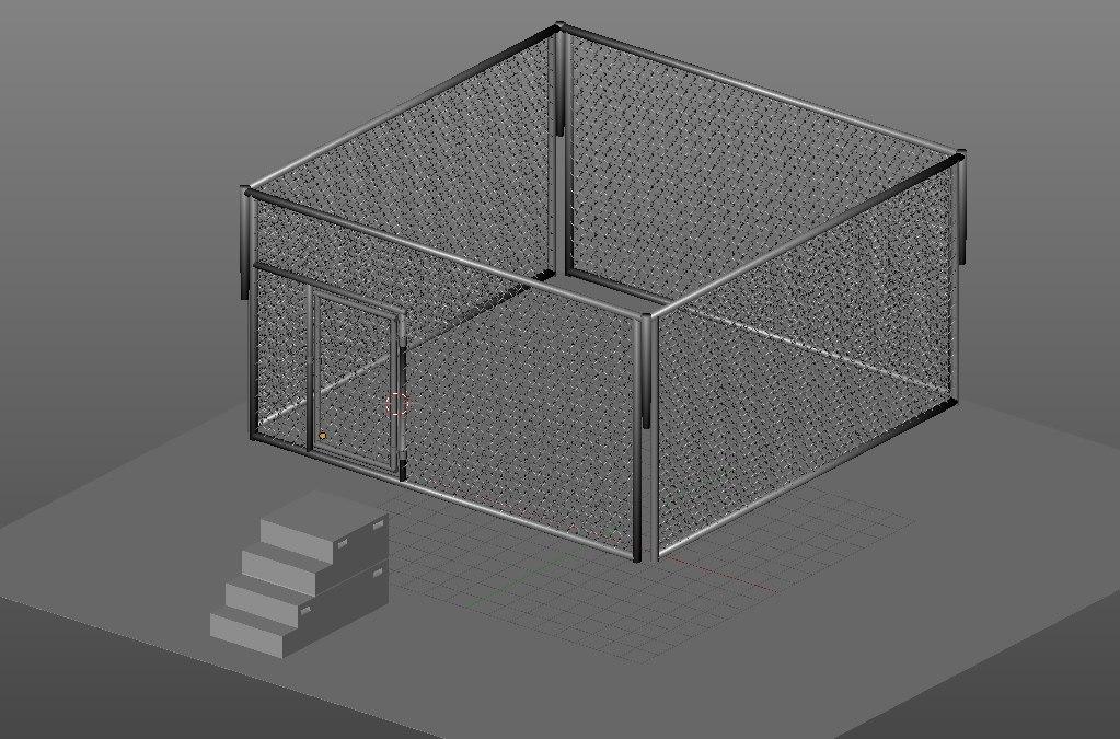 3D kit addon remguin wrestling model