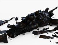 3D model crash jet