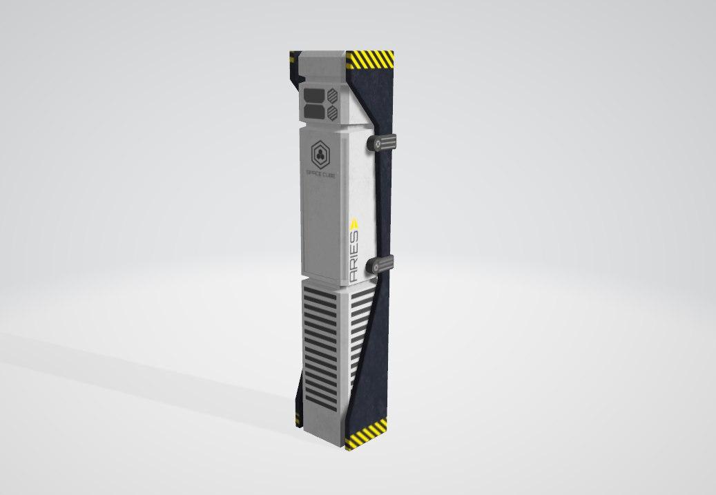 3D pillar ready asset