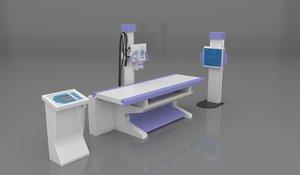 x-ray machine 3D model