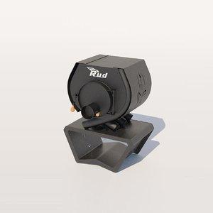 heating stove rud pyrotron 3D model