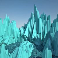 ice land 3D model
