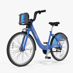 3D citi bike bicycle