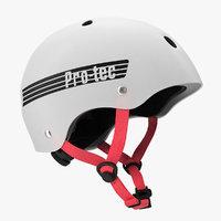 skate helmet pro tec 3D