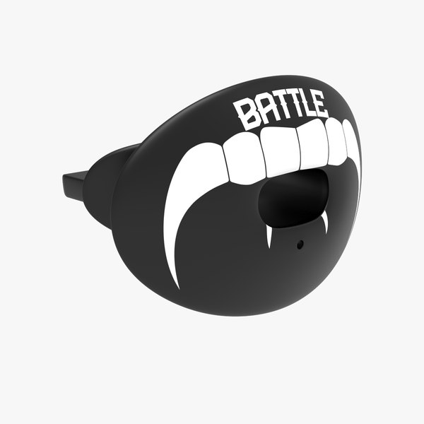 football mouth guard 3D