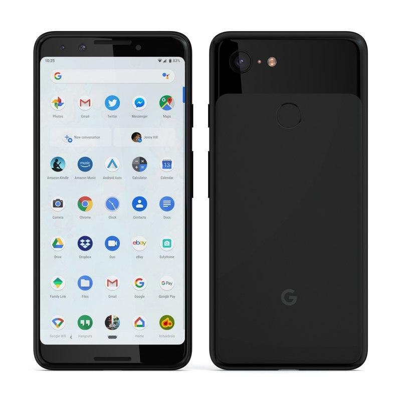 Google Pixel 3 + Pixel 3 XL Black
