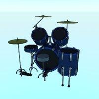 3D music instrument drum