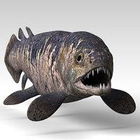 3D rhizodus model