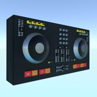 music instrument turntable 3D