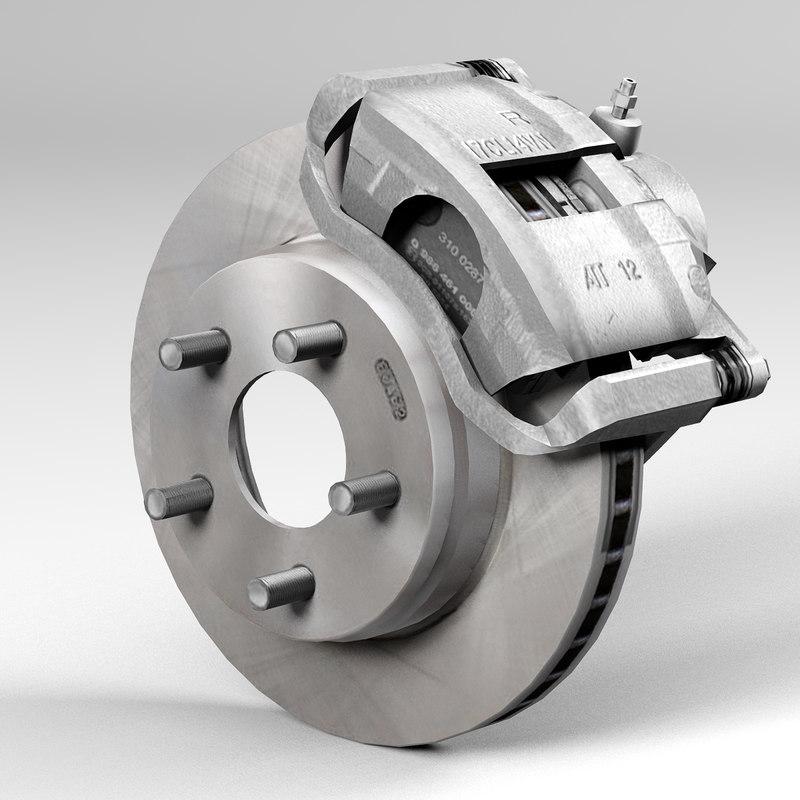 3ds car disc brake