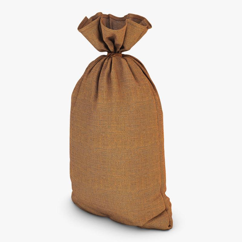 sack v 1 3D model