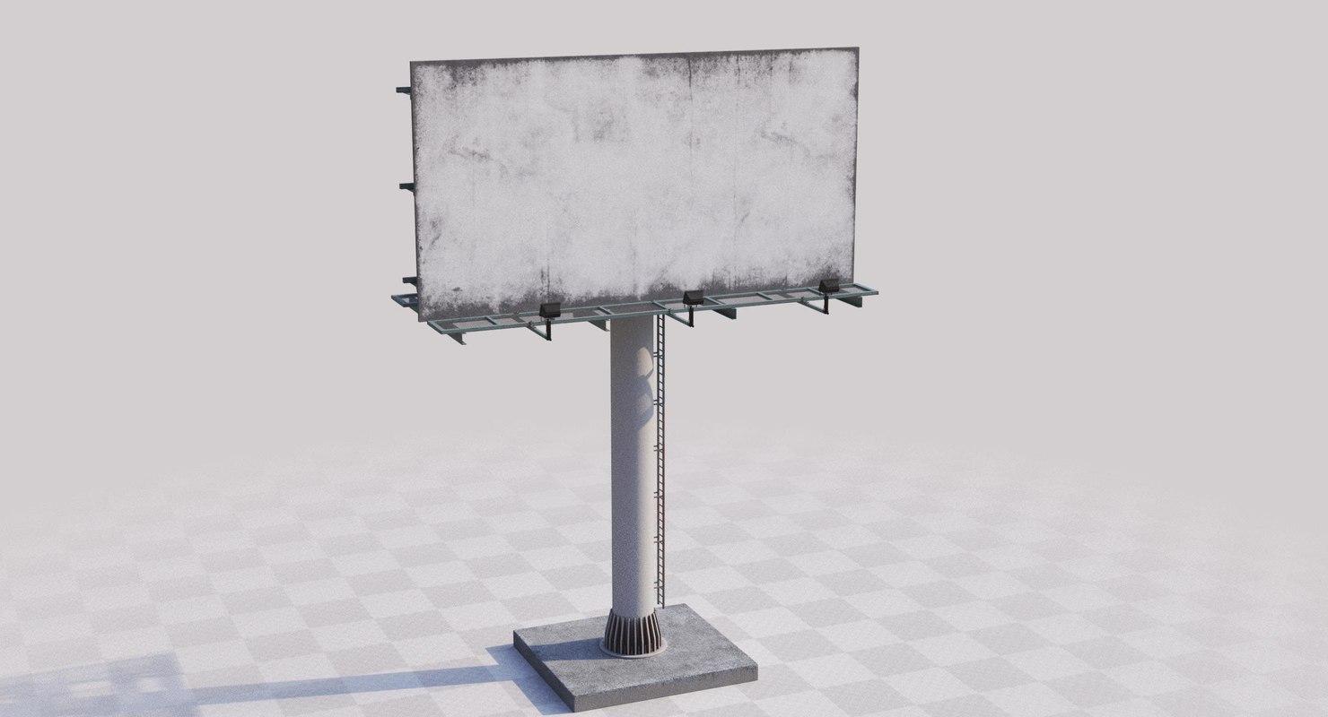 billboard board 3D